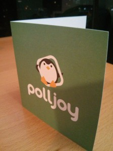 polljoy welcome note