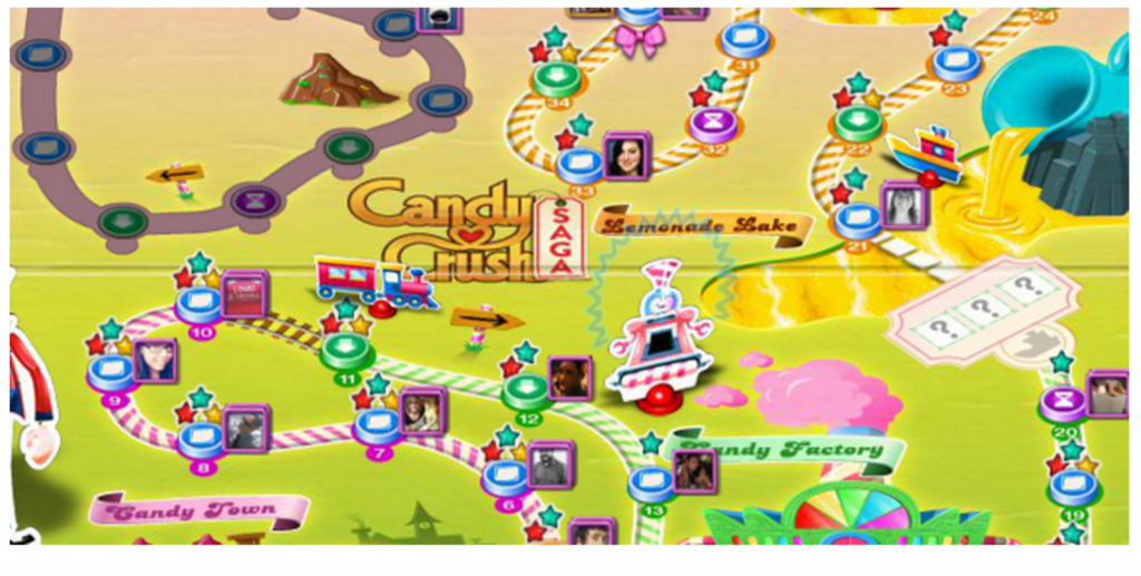 candy crush uses community for better retention